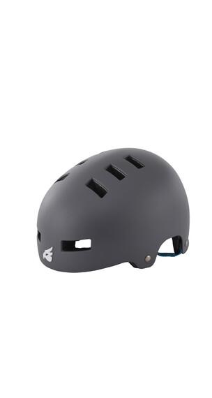 bluegrass Super Bold Helm matt gray/cyan